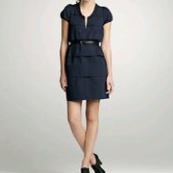 J. Crew Dresses & Skirts - J. Crew | Navy Tiered Dress NWT